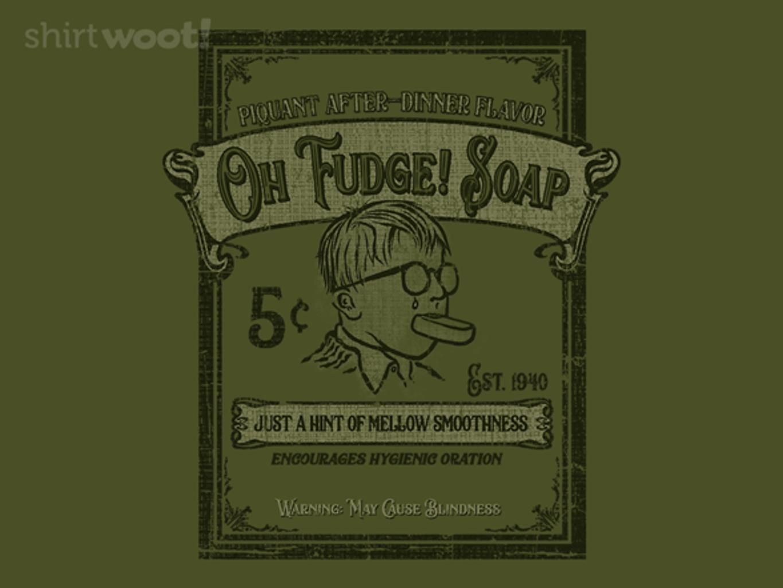 Woot!: Oh Fudge! Soap