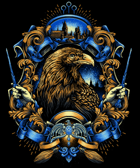Qwertee: House of the Wise