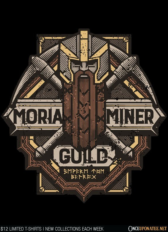 Once Upon a Tee: Moria Miner