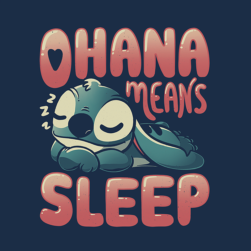 Wistitee: Ohana Means Sleep