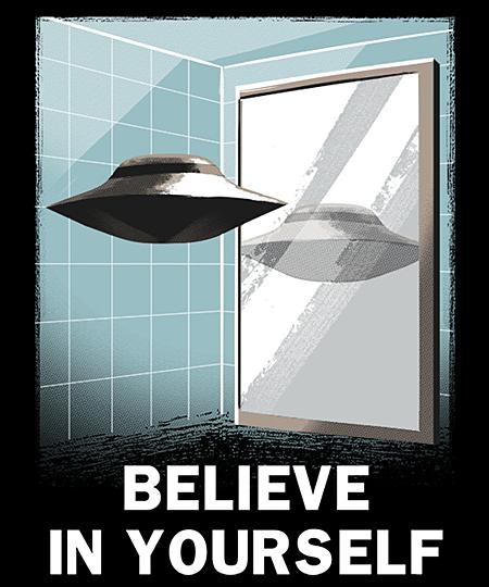 Qwertee: Believe in Yourself