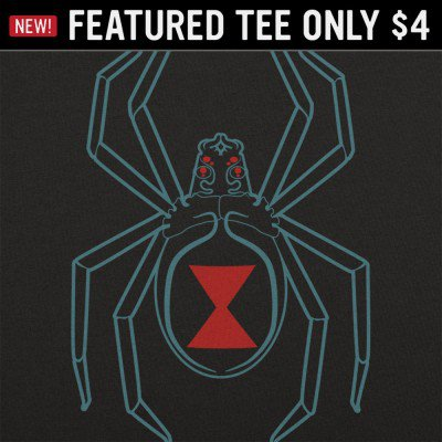 6 Dollar Shirts: Black Widow