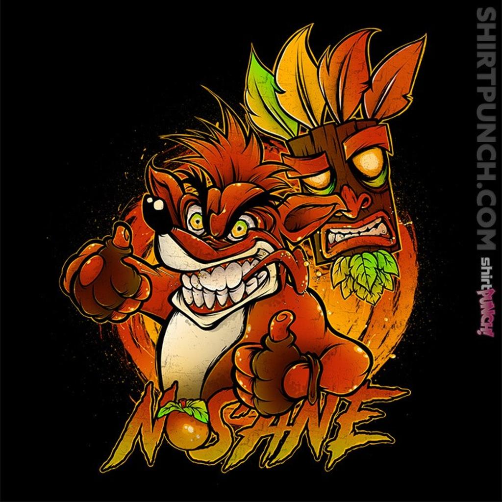ShirtPunch: Nsane Bandicoot