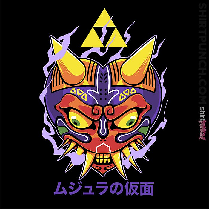 ShirtPunch: Majora's Oni Mask