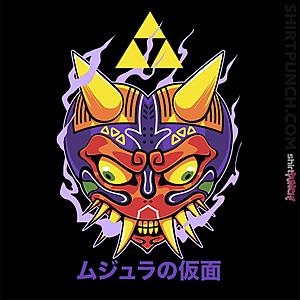 ShirtPunch: Majora's Oni Mask