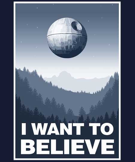Qwertee: I want to believe