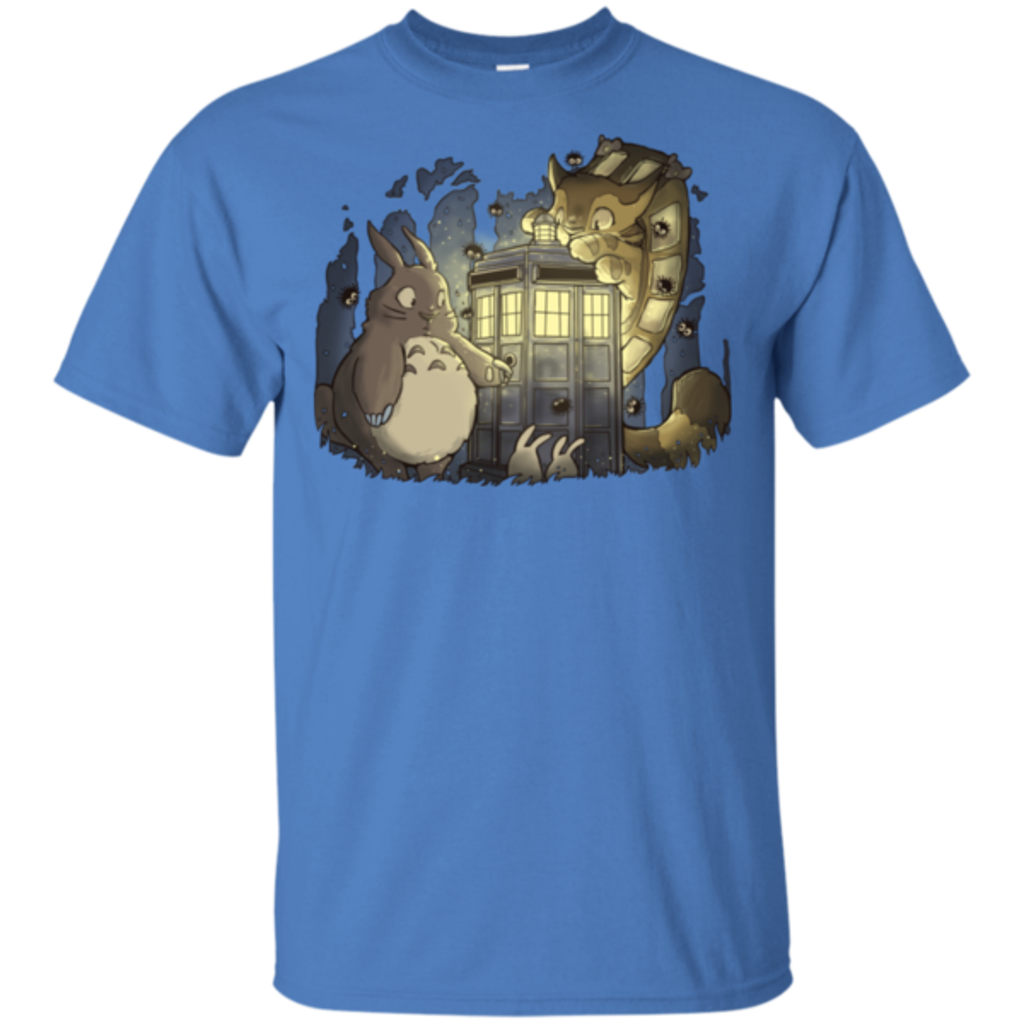 Pop-Up Tee: Tardis in the Forest