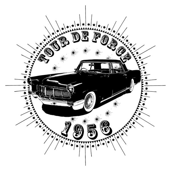 NeatoShop: Vintage Classic Car 1956 Tour De Force Linc