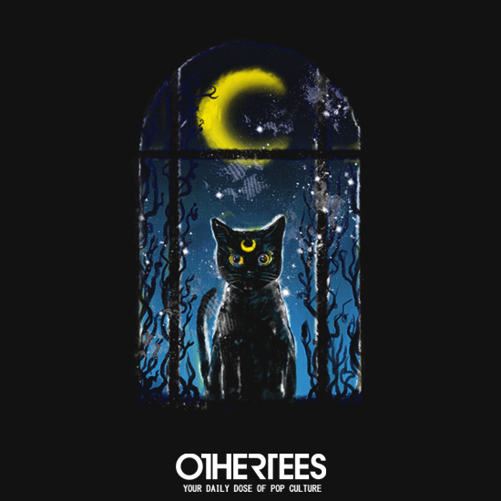 OtherTees: Moon Visitor