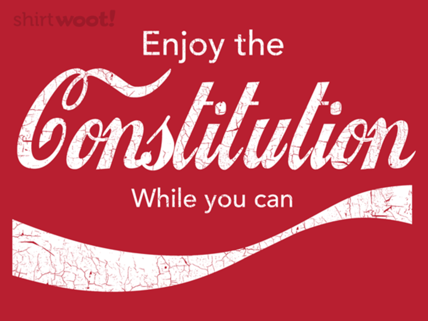 Woot!: Constitution Cola