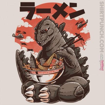 ShirtPunch: Kaiju's Ramen