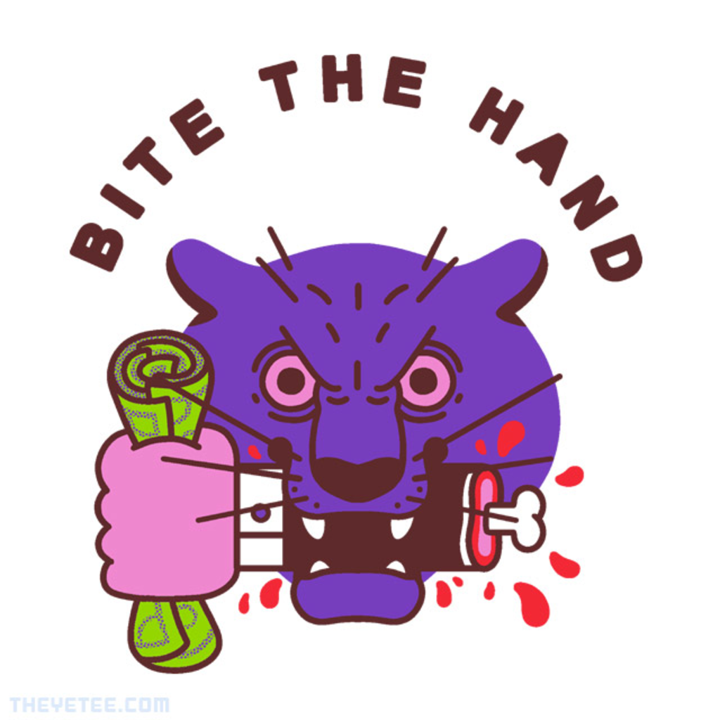 The Yetee: Bite the Hand