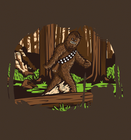 BustedTees: Bigfoot of Endor