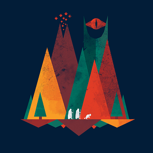 TeeTee: Geometric Middle Earth