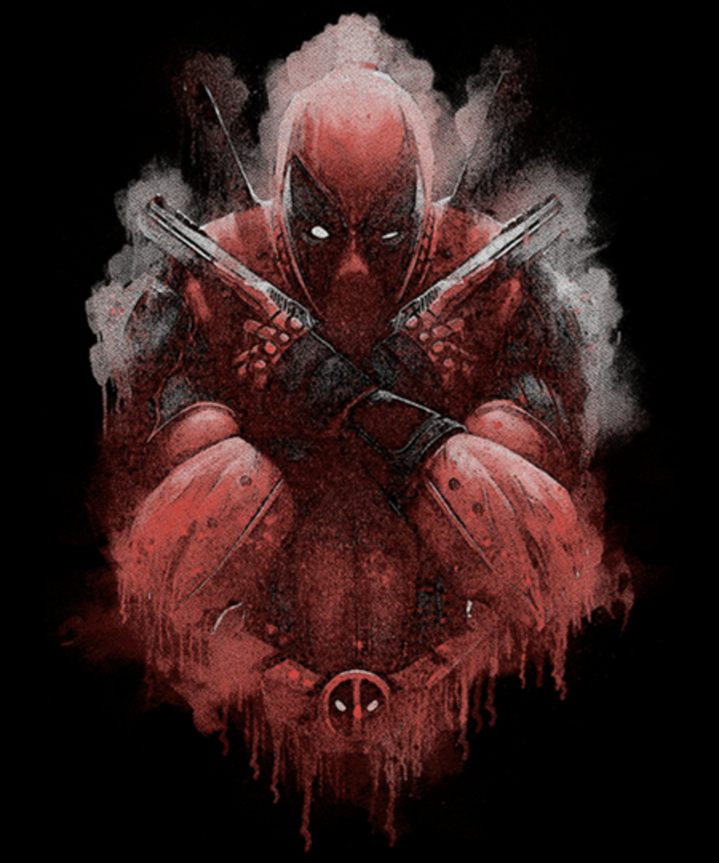 Qwertee: Inked red