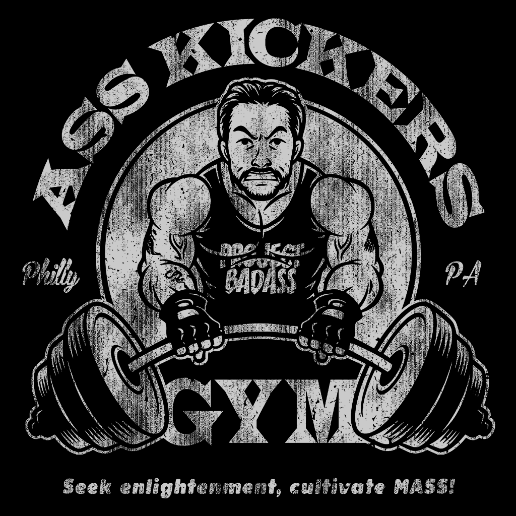 Pop-Up Tee: Asskickers Gym