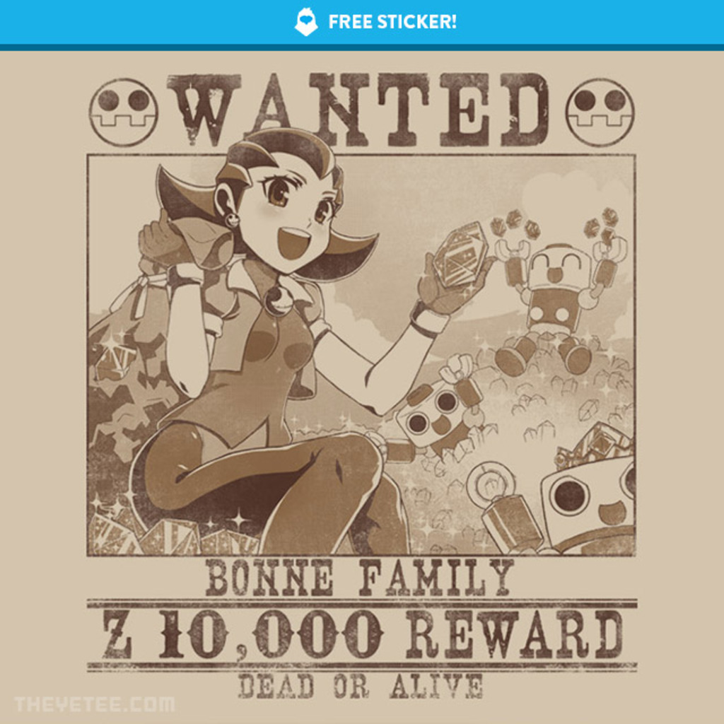 The Yetee: Bonne family poster