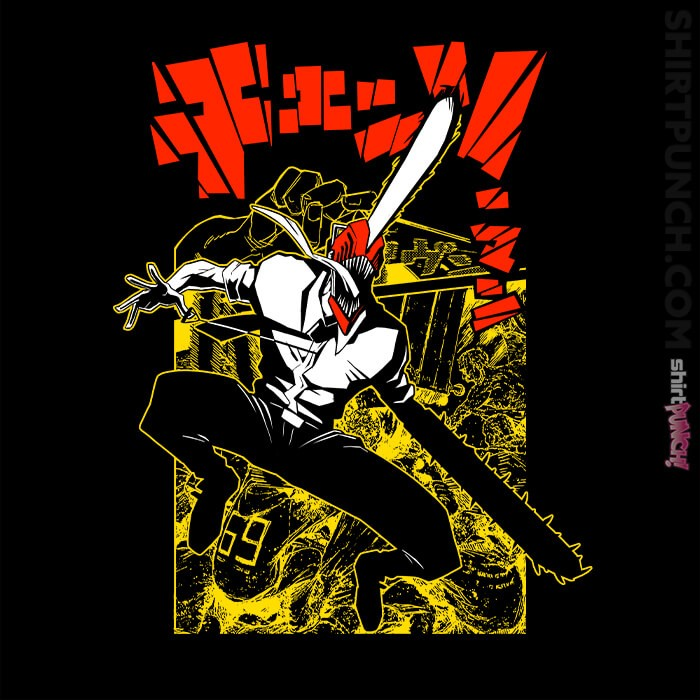 ShirtPunch: Chainsaw Man