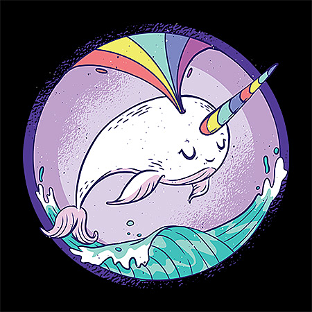 MeWicked: Rainbow Narwhal