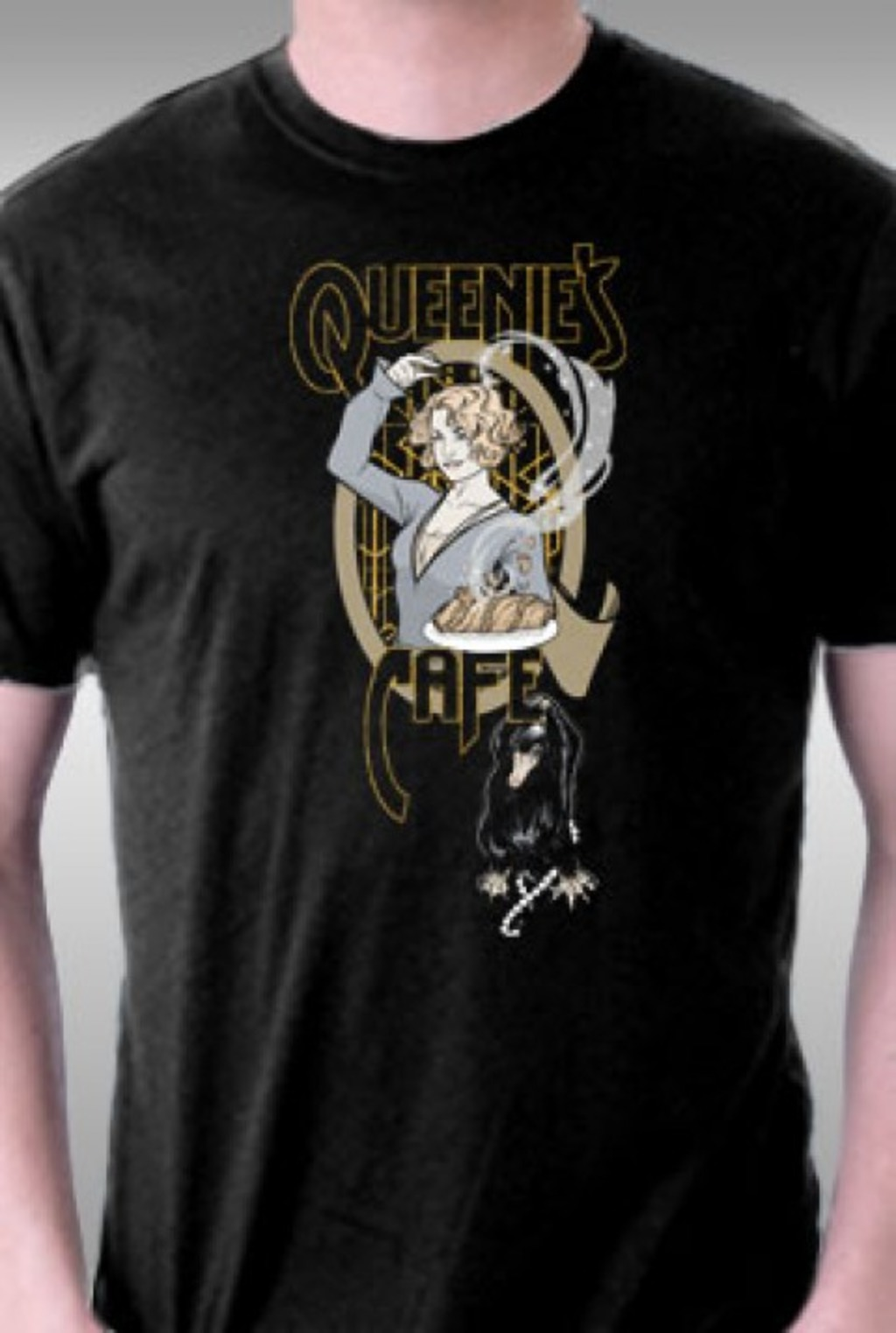 TeeFury: Queenie's Cafe