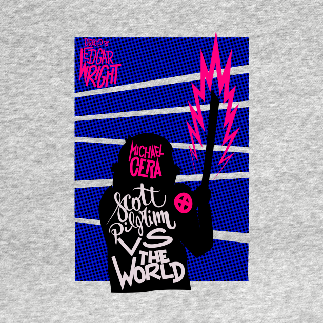 TeePublic: Scott Pilgrim VS The World Poster