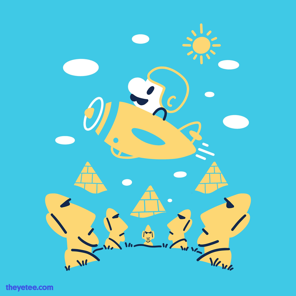 The Yetee: Fly Away!