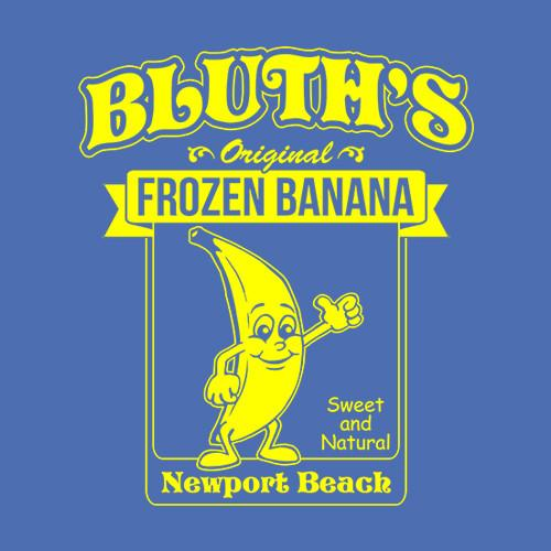 Five Finger Tees: Bluth's Frozen Banana T-Shirt