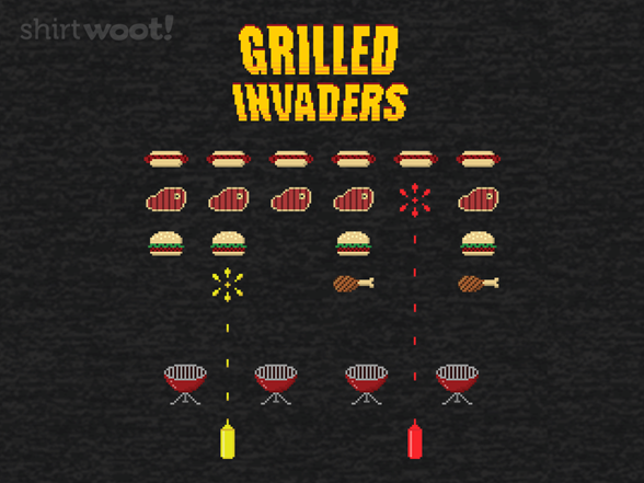 Woot!: Grilled Invaders