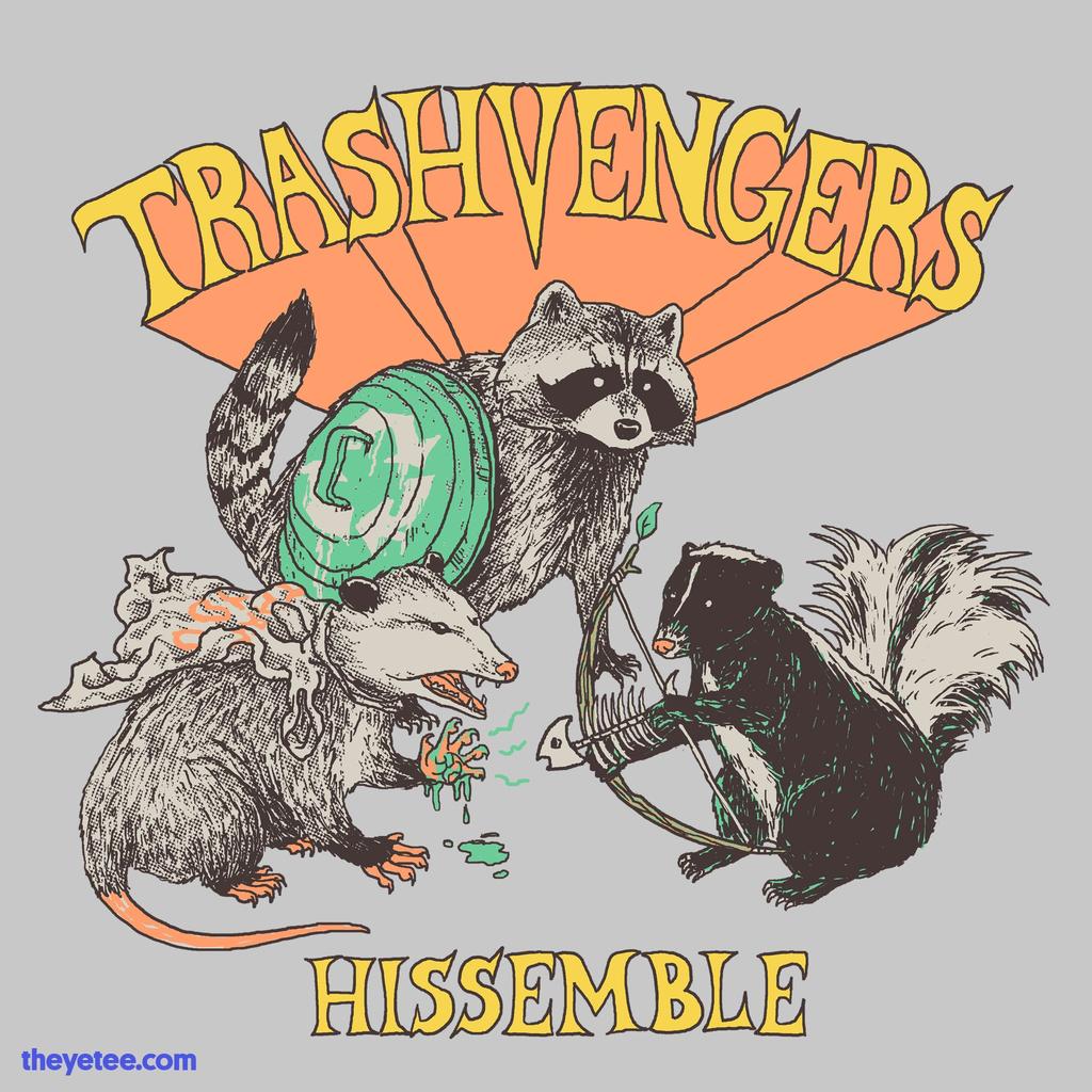 The Yetee: Trashvengers