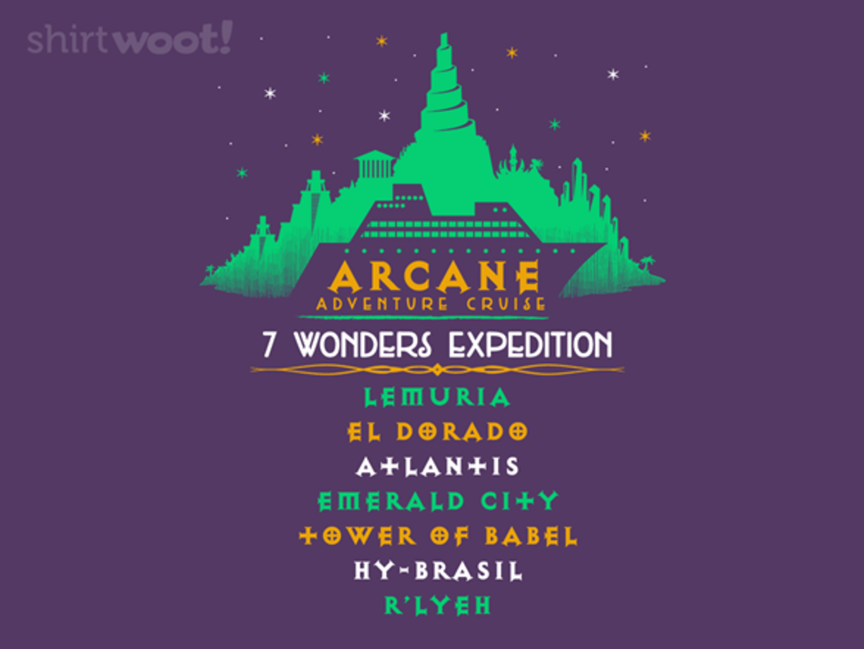 Woot!: Arcane Cruises - $15.00 + Free shipping