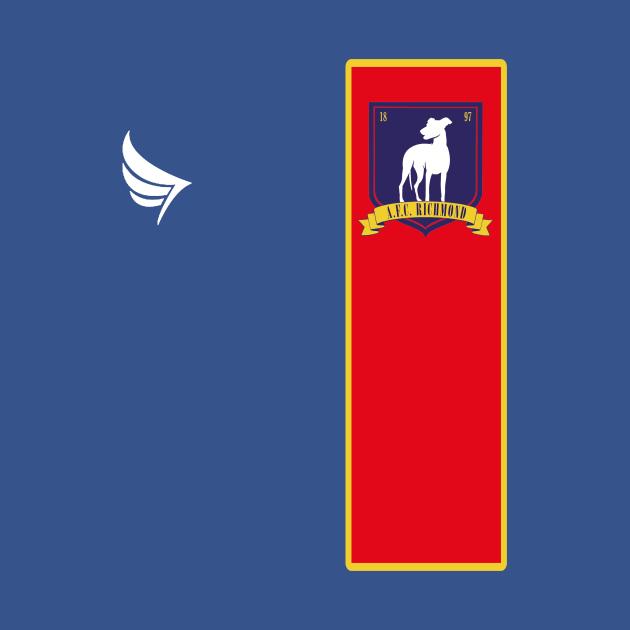 TeePublic: Ted Lasso AFC Richmond Logo Soccer Jersey
