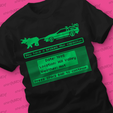 ShirtPunch: The Delorean Trail