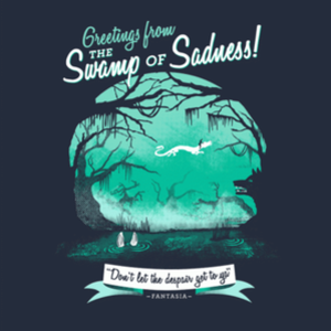 BustedTees: Swamp of Sadness