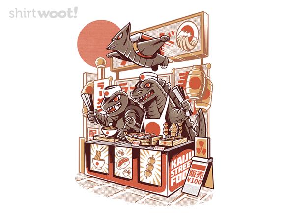 Woot!: Kaiju Street Food