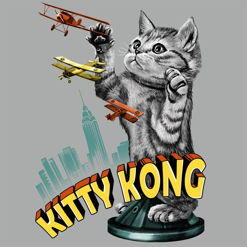 Feline Shirts: Kitty Kong