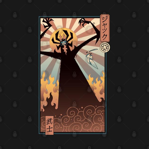 TeePublic: Last Duel Ukiyo-e