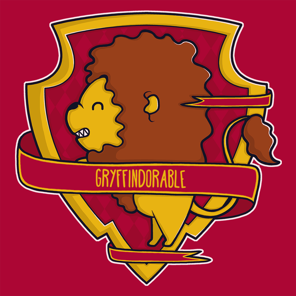 Pop-Up Tee: Gryffindorable