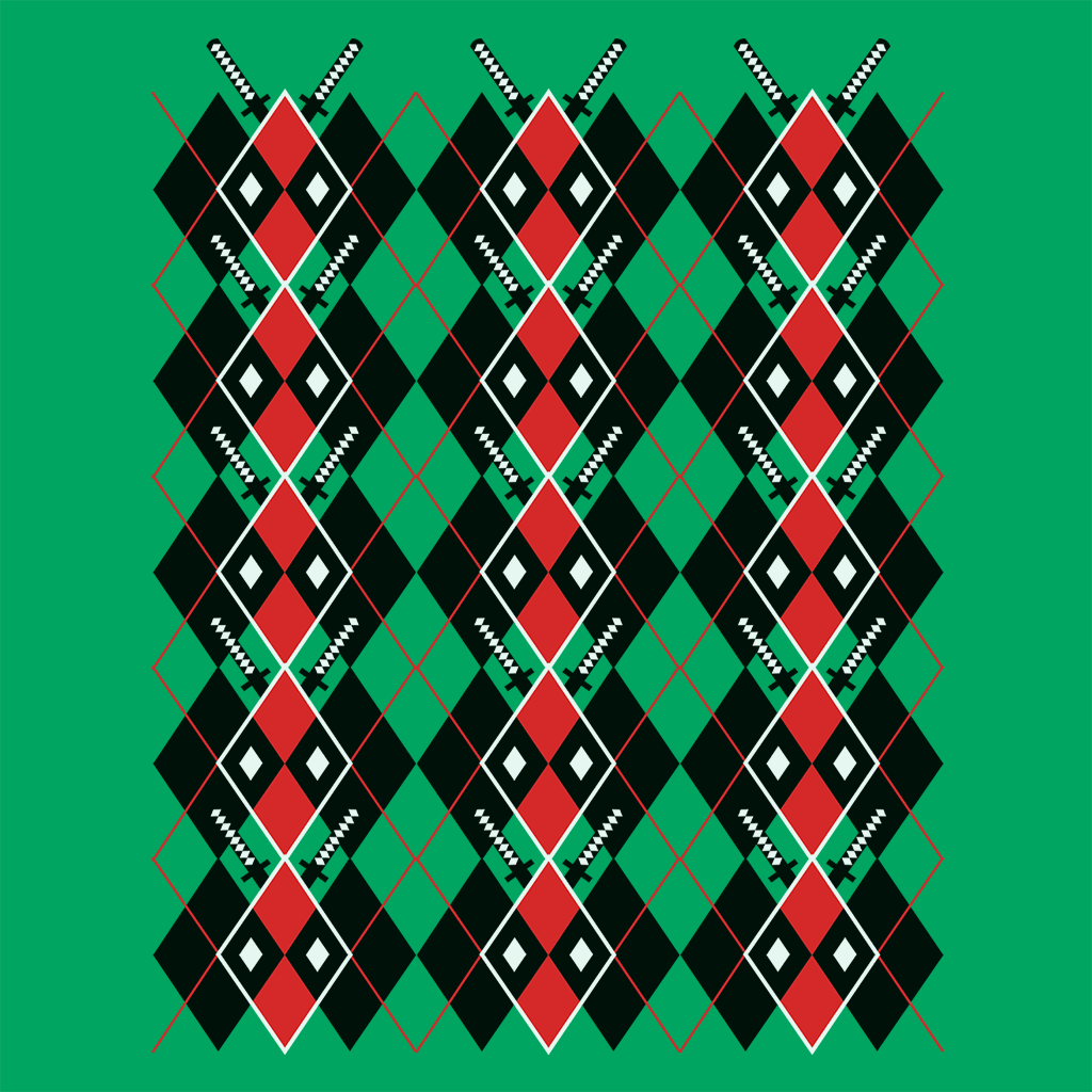 Pop-Up Tee: Deadpool Argyle