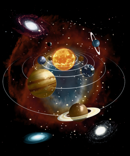 Qwertee: Planets in Space