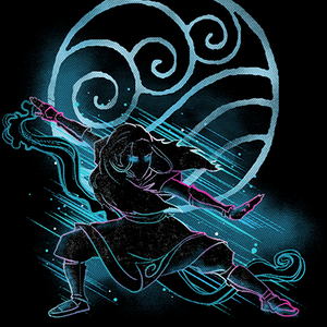 Qwertee: the water bender