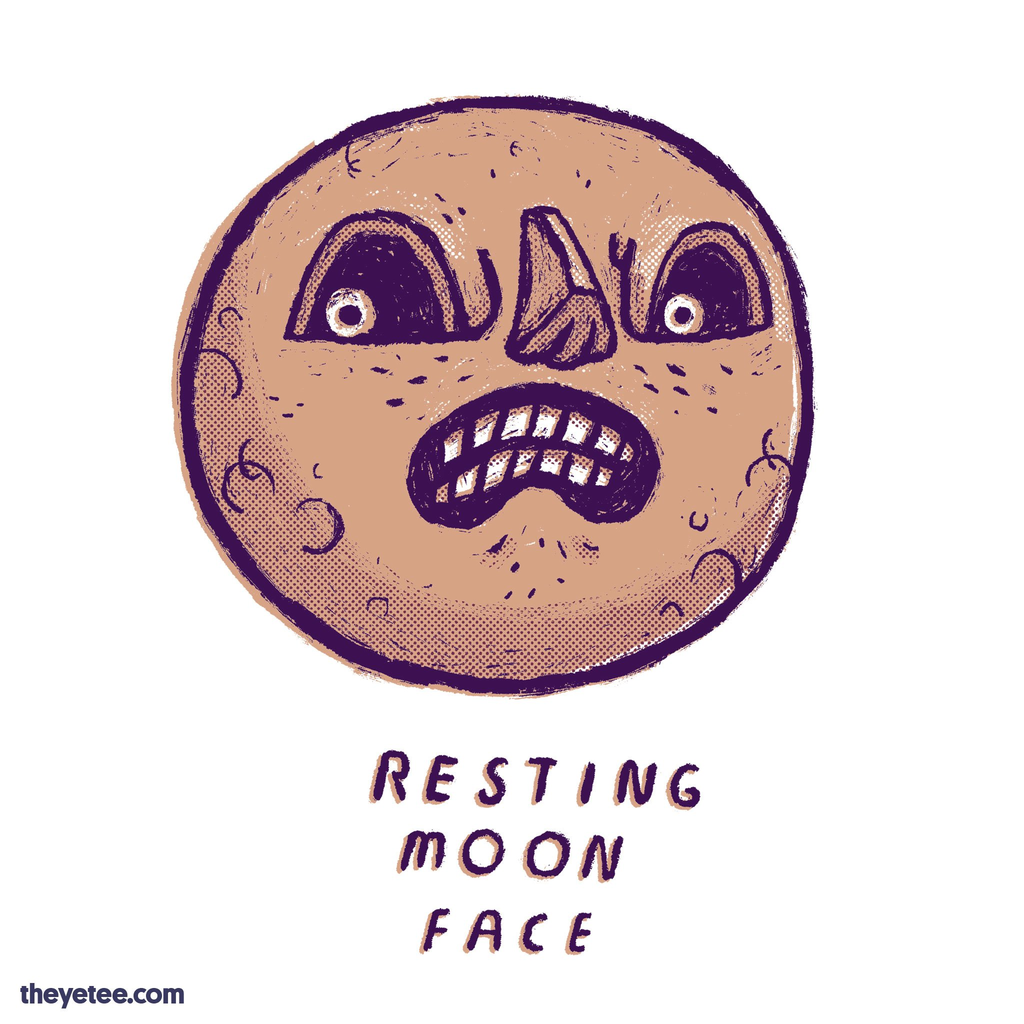 The Yetee: Resting Moon Face