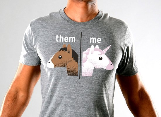 SnorgTees: Them - Me Limited Edition Tri-Blend