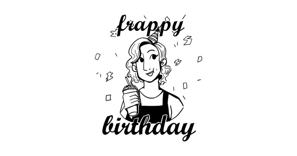 TeePublic: Frappy Birthday!