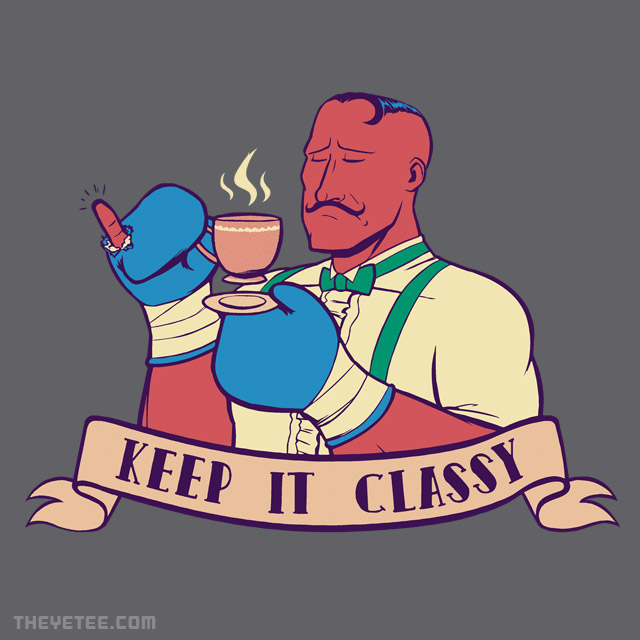 The Yetee: Keep It Classy