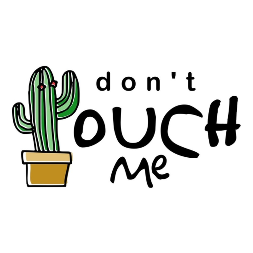 BustedTees: don't touch me
