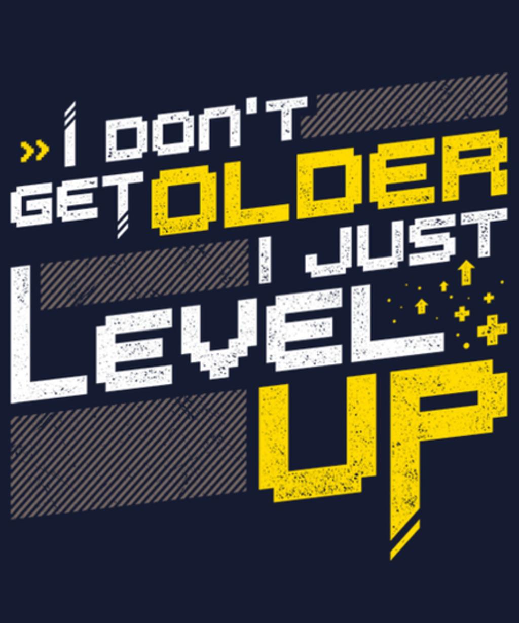 Qwertee: Level UP
