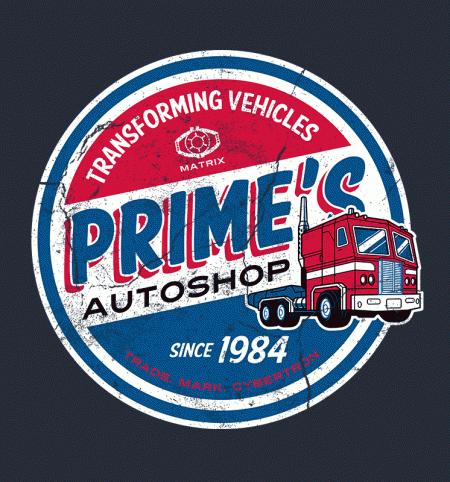 BustedTees: Prime's Autoshop