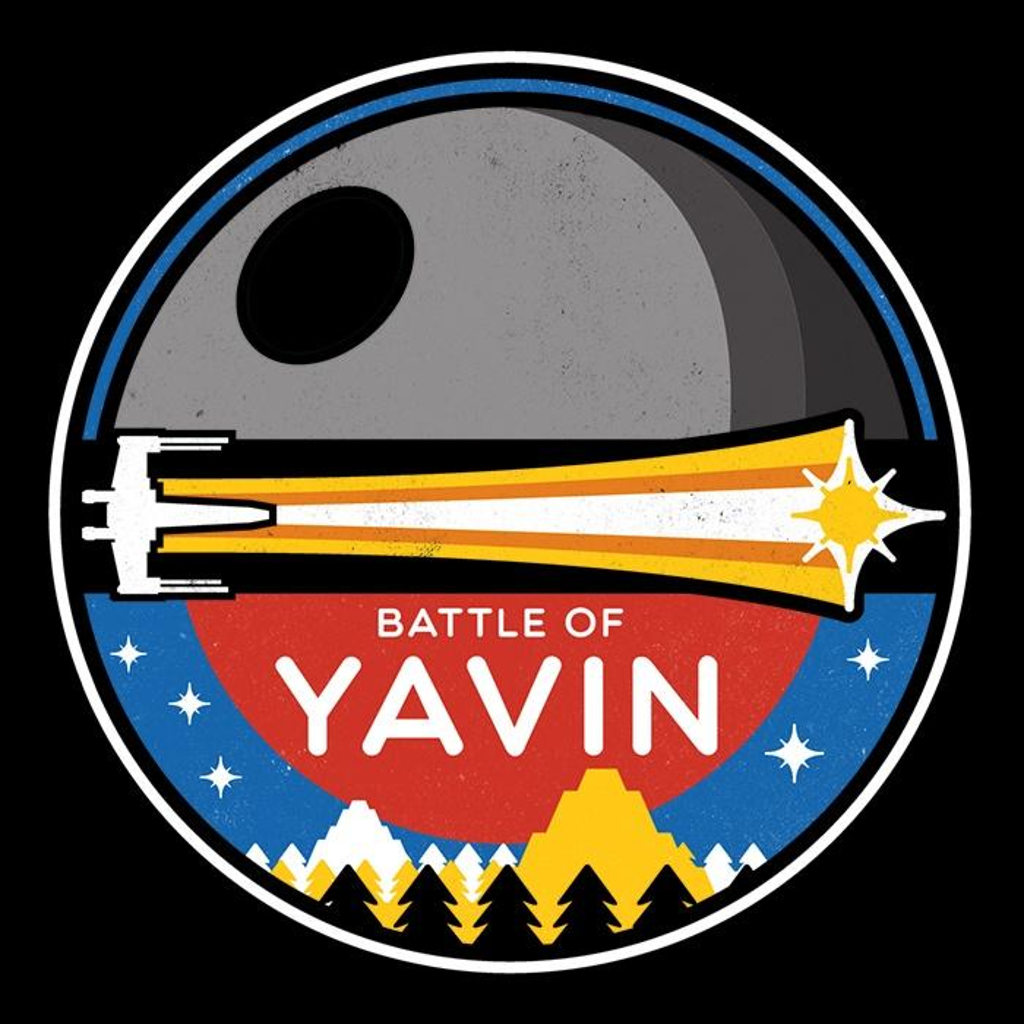 Once Upon a Tee: The Battle of Yavin