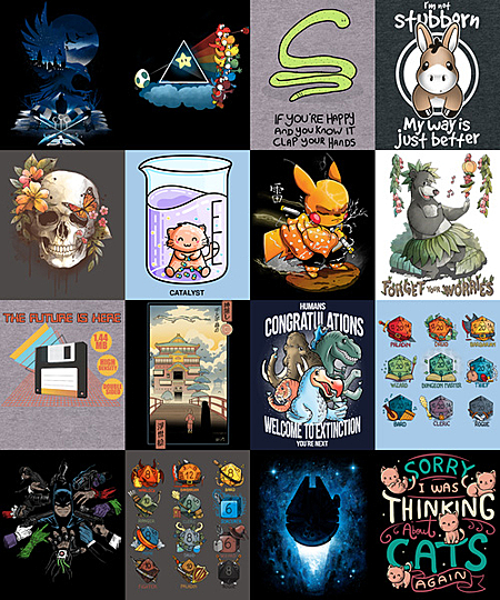 Qwertee: Special InsaniTEE Sale Extended!