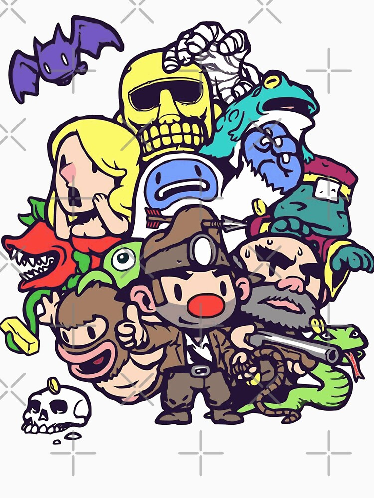 RedBubble: Spelunky Gang